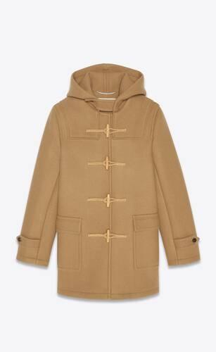 duffle coat in wool