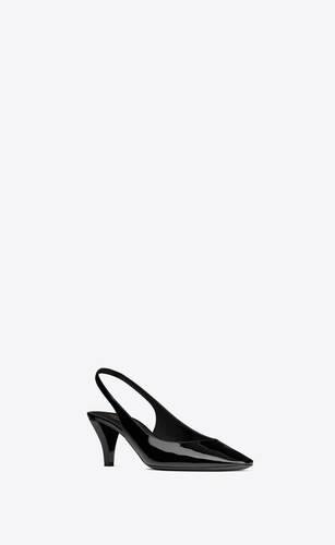 zapatos de salón slingback carole de charol