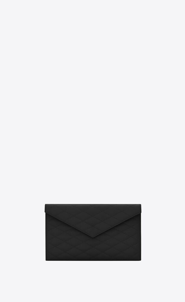 sade envelope pouch in carré-quilted lambskin