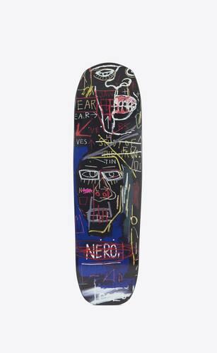 triptyque de skateboards jean-michel basquiat