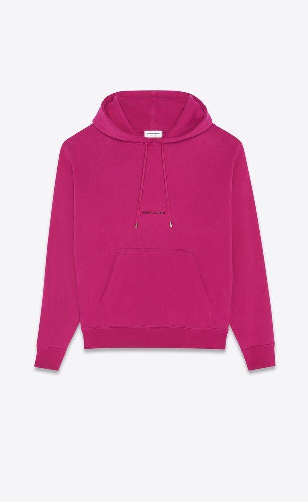 hoodie saint laurent rive gauche