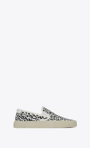 sneakers sin cordones venice de lona con estampado babycat