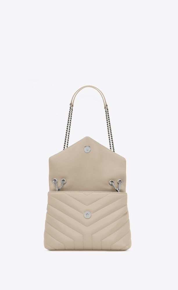 "small loulou bag in ""y""-quilted leather"