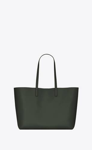 shopping bag saint laurent e/w in morbida pelle
