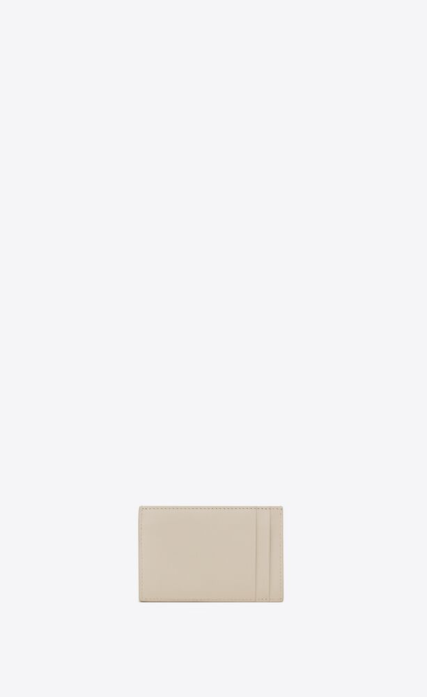 tiny monogram kartenetui aus glattleder