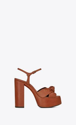 bianca sandals in smooth leather