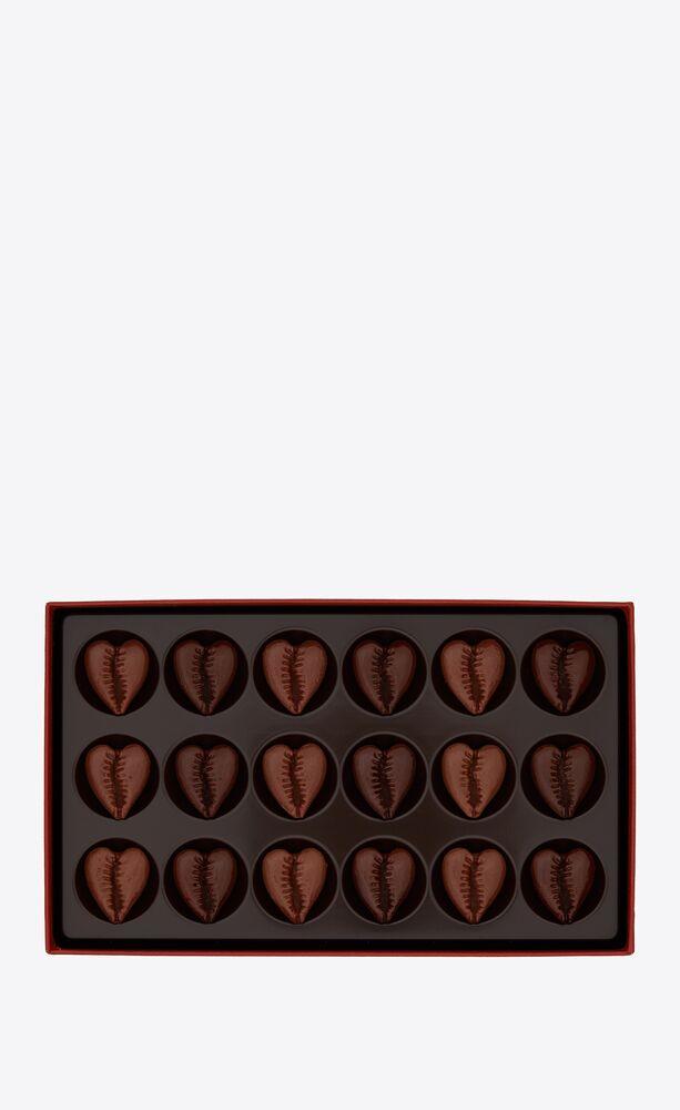 la maison du chocolat heart seashell chocolates