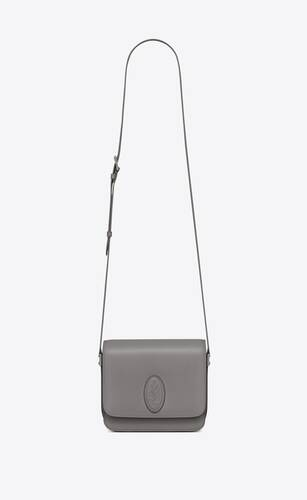 le 61 small saddle bag in smooth leather