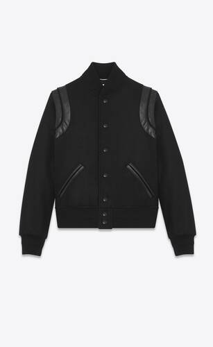 teddy saint laurent en laine
