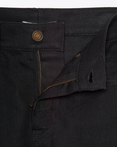 jean skinny used black