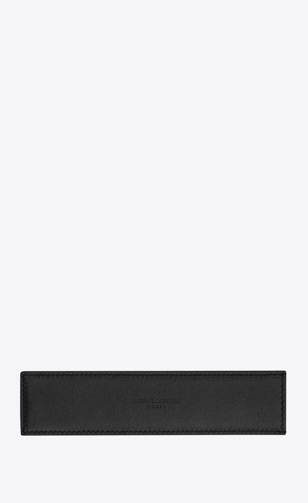 pen case in leather