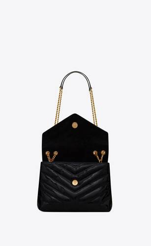 loulou small bag in y-quilted patent