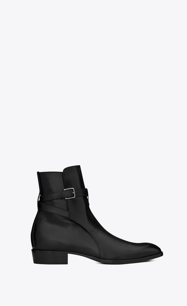 wyatt jodhpur boots in smooth leather