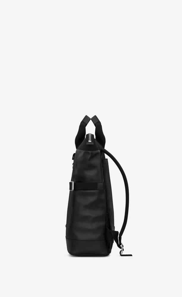 rivington race convertible backpack in leather