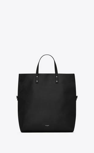 ethan shopping bag pliable en cuir grainé