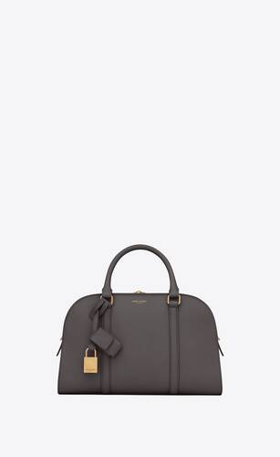 lock baby duffle in smooth leather