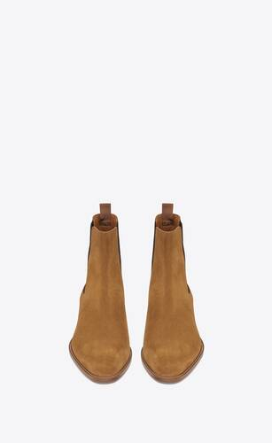 wyatt chelsea boot in suede