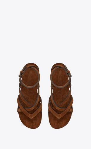 culver sandals in suede