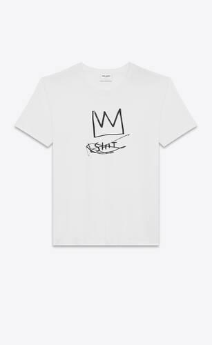 "jean-michel basquiat ""crown"" t-shirt"