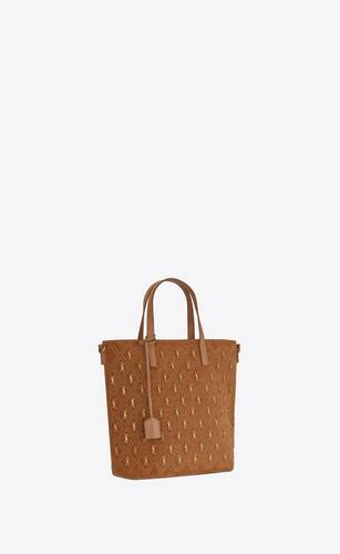 le monogramme saint laurent n/s shopping bag en suède