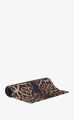 no ka'oi leopard yoga mat