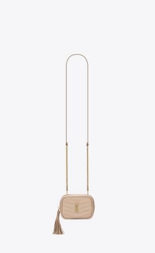 グレインドプードルエンボスレザー&キルティングのベイビーバッグ「ルー」