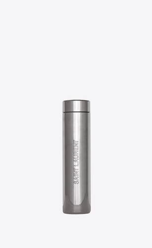 saint laurent travel mug in metal