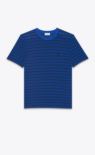 monogram classic t-shirt in striped jersey