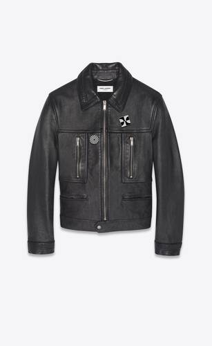 jacket in leather