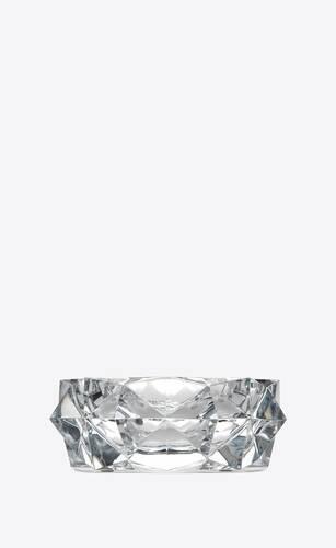 baccarat cendrier cordoue en cristal