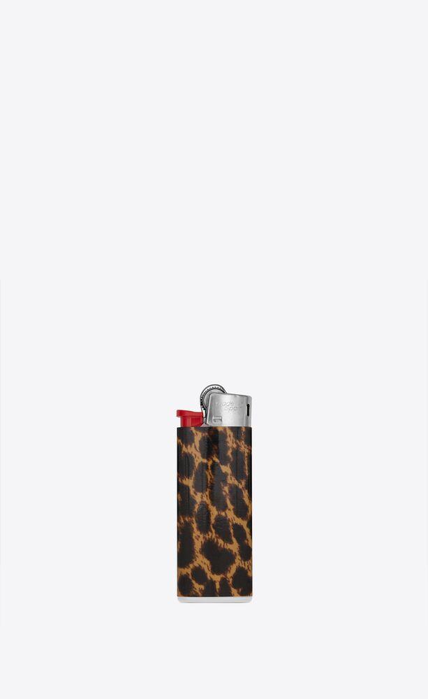 leopard lighter