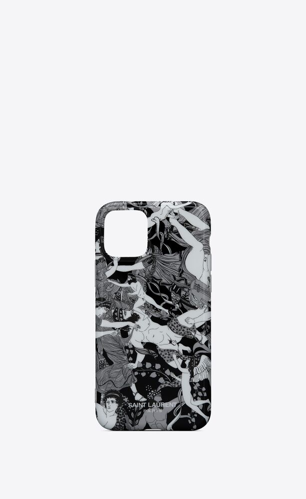 "iphone 11 pro case in ""scandal"" printed silicone"