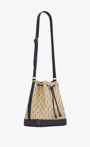 le monogramme bucket bag en toile