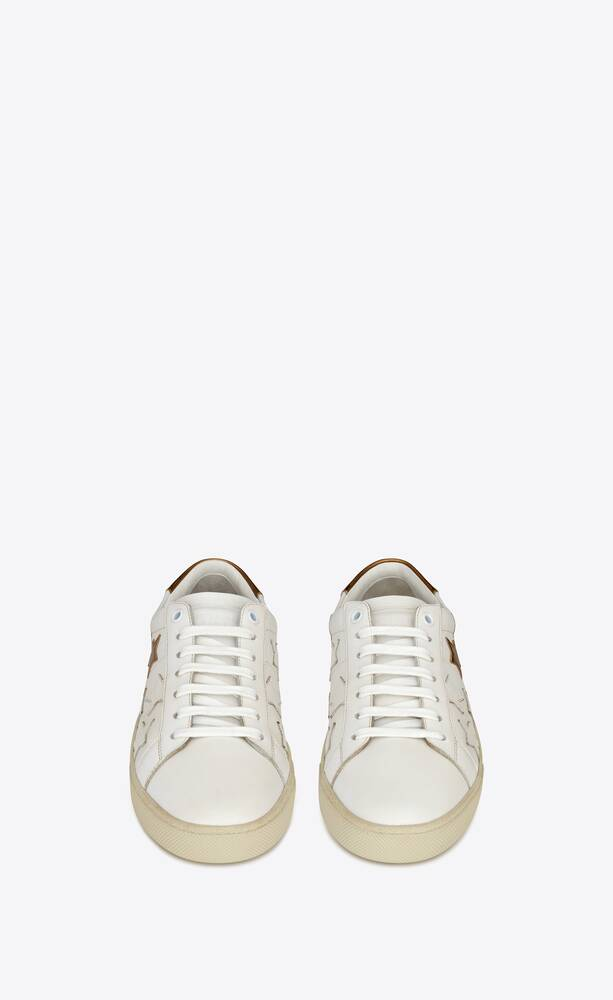 court classic sl/06 metallic california sneakers in smooth leather