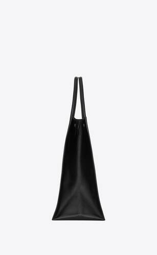 rive gauche large tote bag in smooth leather