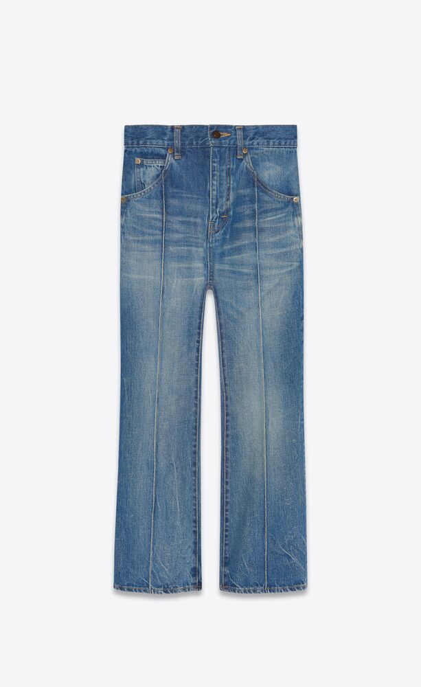francoise jeans in authentic dark dirty blue denim