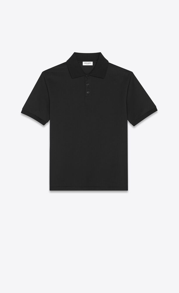 monogram polo shirt