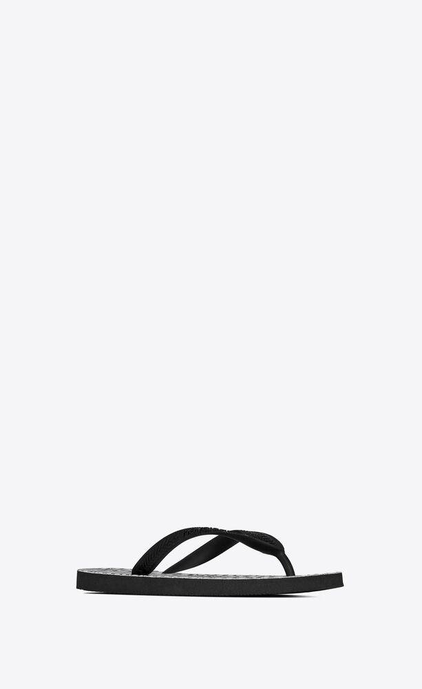 femme - havaianas tongs à imprimé zèbre