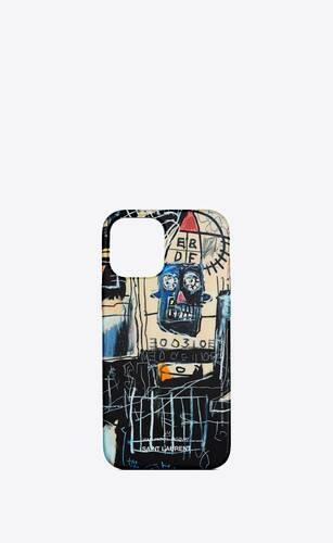 coque d'iphone 12 pro max à imprimé jean-michel basquiat