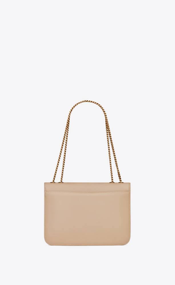 tuc chain bag in box saint laurent leather