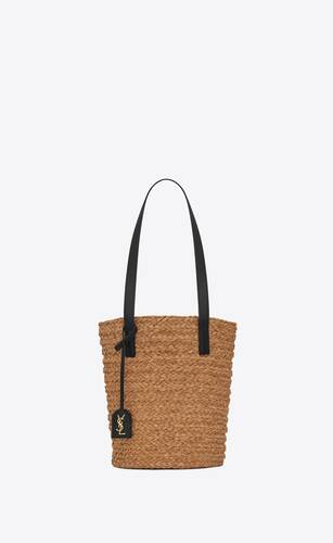 panier small bag in raffia