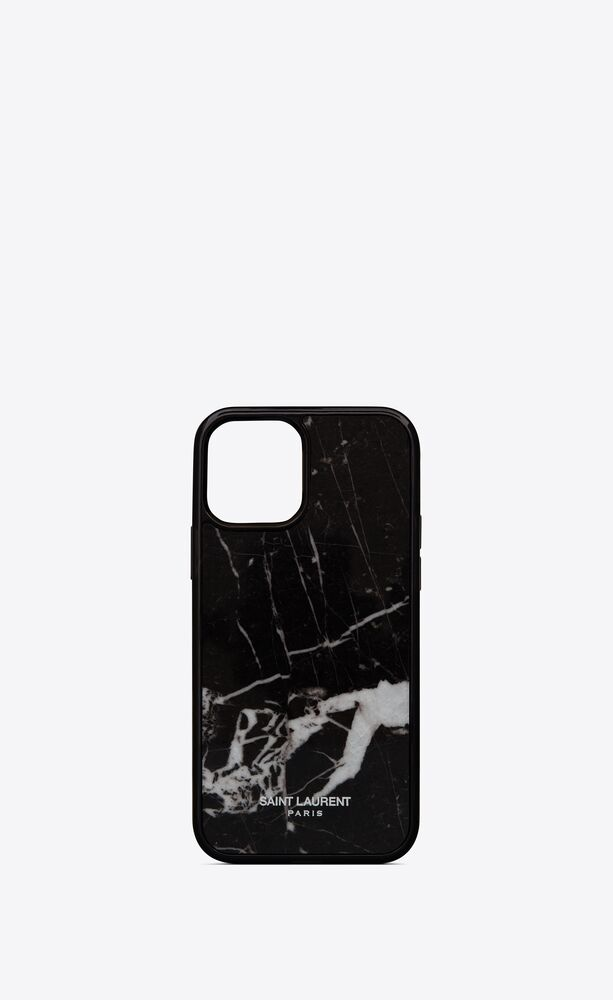 iphone 12 pro case in marble