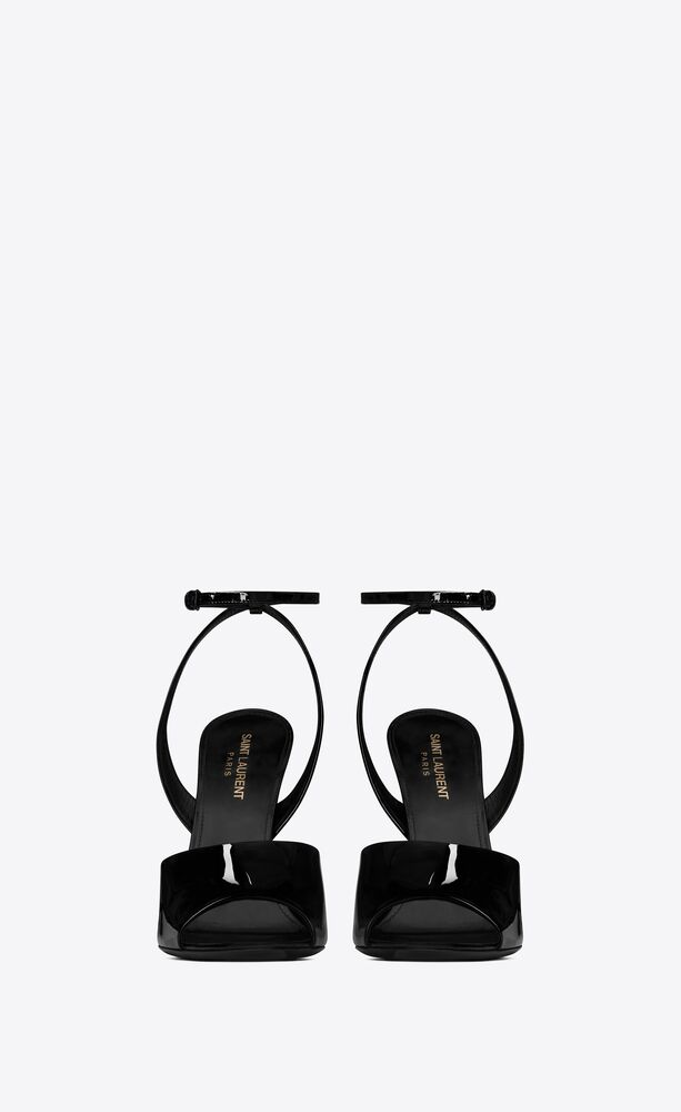 scandale sandals in patent leather