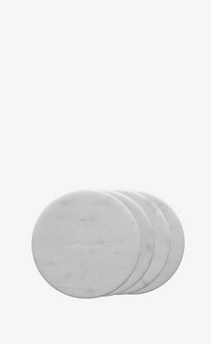 coasters in marble