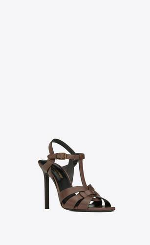 tribute sandals in smooth leather