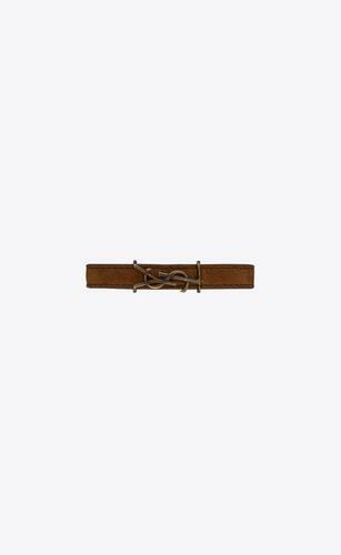opyum bracelet in suede and metal