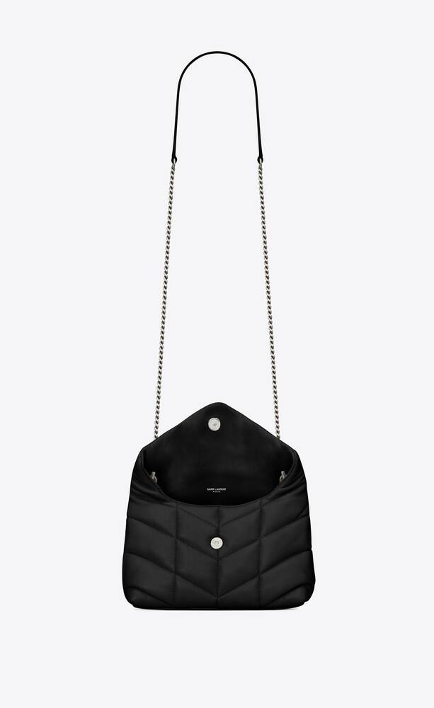 loulou puffer mini bag in quilted lambskin