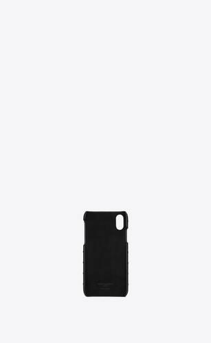モノグラム iphone xsケース(キルティングレザー)
