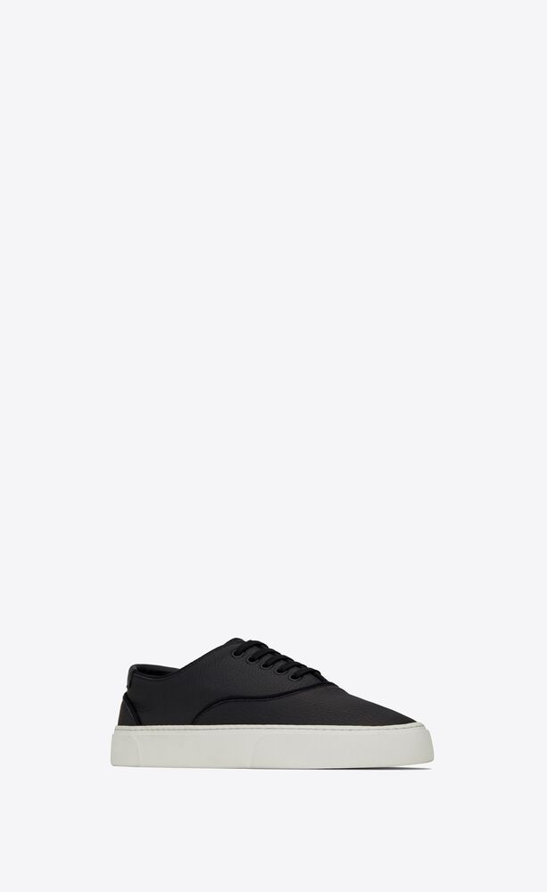 sneakers venice de piel granulada