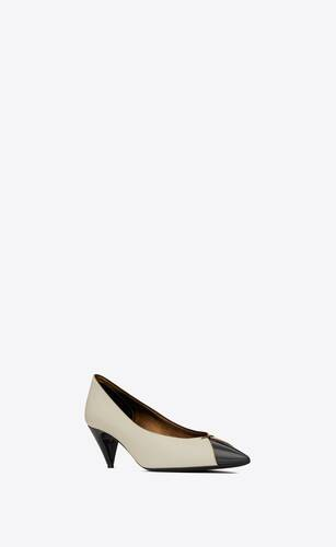 lola pumps in smooth leather